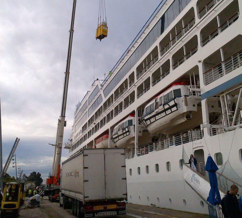 servicios cruceros incargo