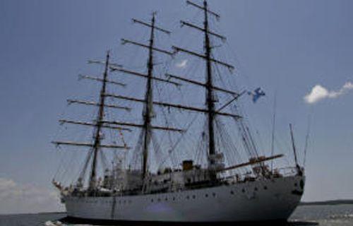 La fragata 'ARA Libertad'