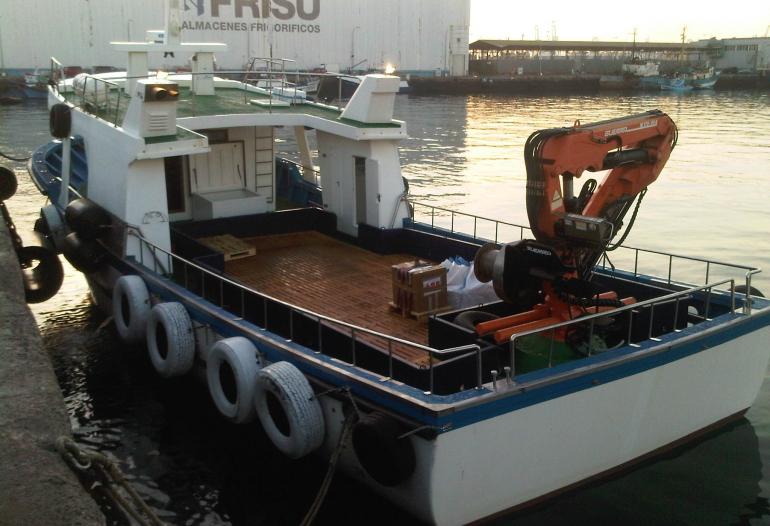 incargo servicio barcazas